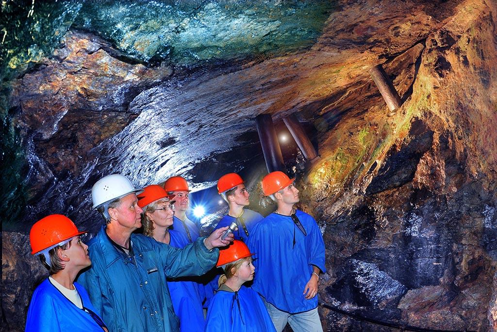 Erzgebirgsmuseum mit Bergwerk